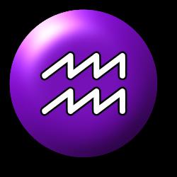 Aquarius symbol 3